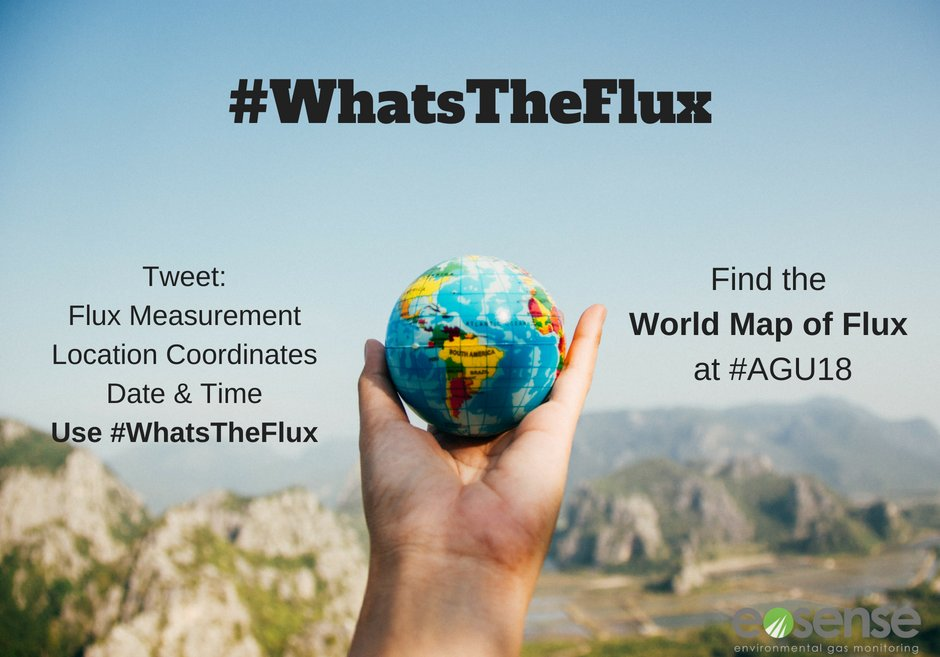 Wondering what to do this weekend now that you are home from #ICOS2018SC ? Submit a #CO2 flux point here: https://t.co/6QDDYFoCIU so you can be part of our World Map of Flux at this years #AGU18 @theAGU