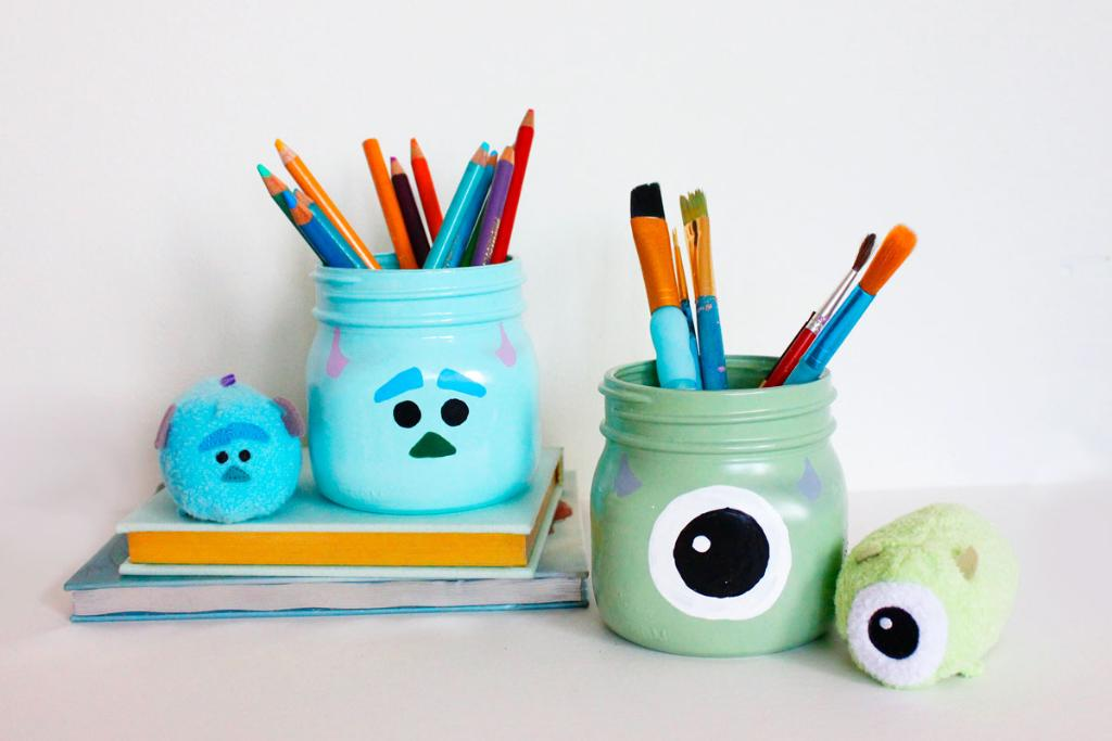 Stay Organized with DIY Monsters, Inc. Pencil Holders (@Disney_Family): https://t.co/B5vxQ2iw92