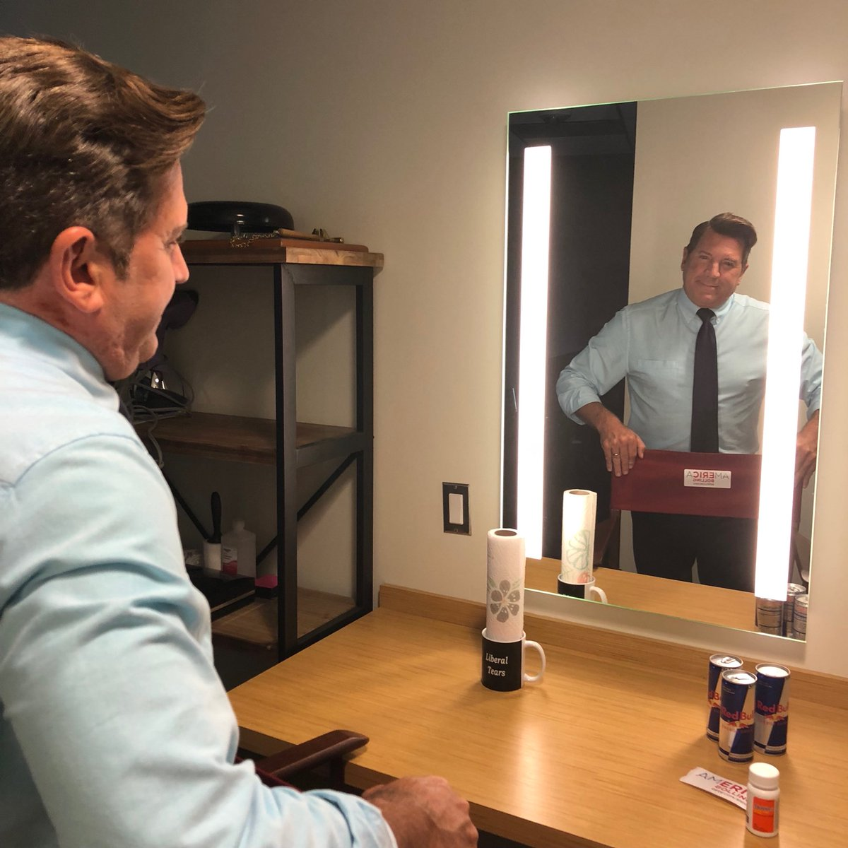 Getting ready to bring some #realnews to #AMericA with @ericbolling #nottheenemy