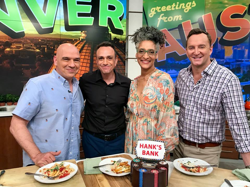 The always-hilarious @HankAzaria is on todays flashback episode of #TheChew. Get ready for some laughs and tune in at 1e 12c p!