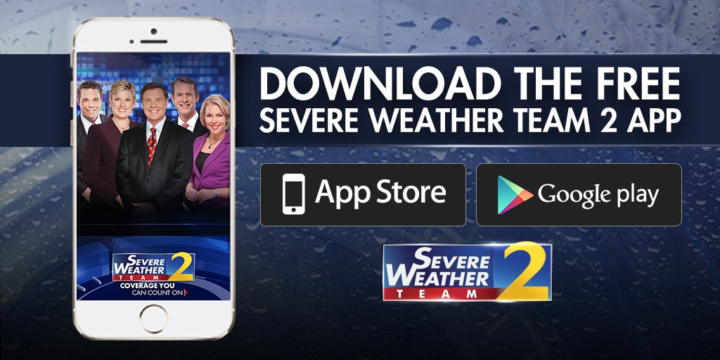 Severe Weather Team: Be sure you have the latest weather forecast