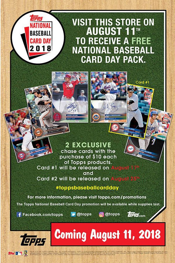 Rbicru7 On Twitter National Baseball Card Day Is Just 2 Days Away