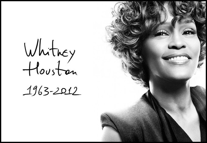 Happy birthday to herself, Whitney Houston. We miss you and we will always love you