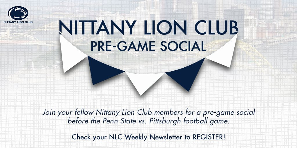 nittany lion club on twitter be sure to check your inbox for your