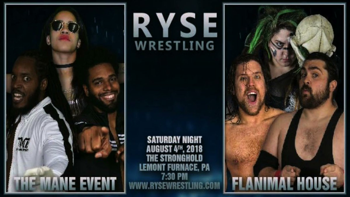 . @ryse_wrestling August 4th event now available digitally for only $7.99 MP4: ow.ly/g8VS30llcFs VOD: ow.ly/MCUV30llcH6 #kingoftheindies