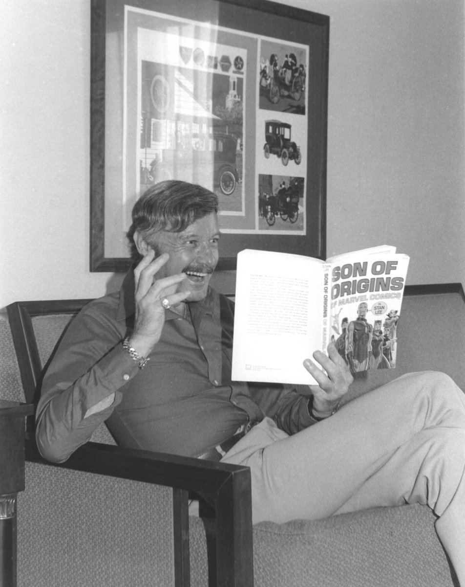 Happy #BookLoversDay! What's your favorite title? (This is another gem from the #StanLeePapers at @ahcwyo). #tbt #marvel<br>http://pic.twitter.com/YsxnezIvi3