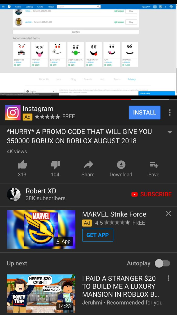 How To Get Free Robux With Inspect Element لم يسبق له مثيل الصور