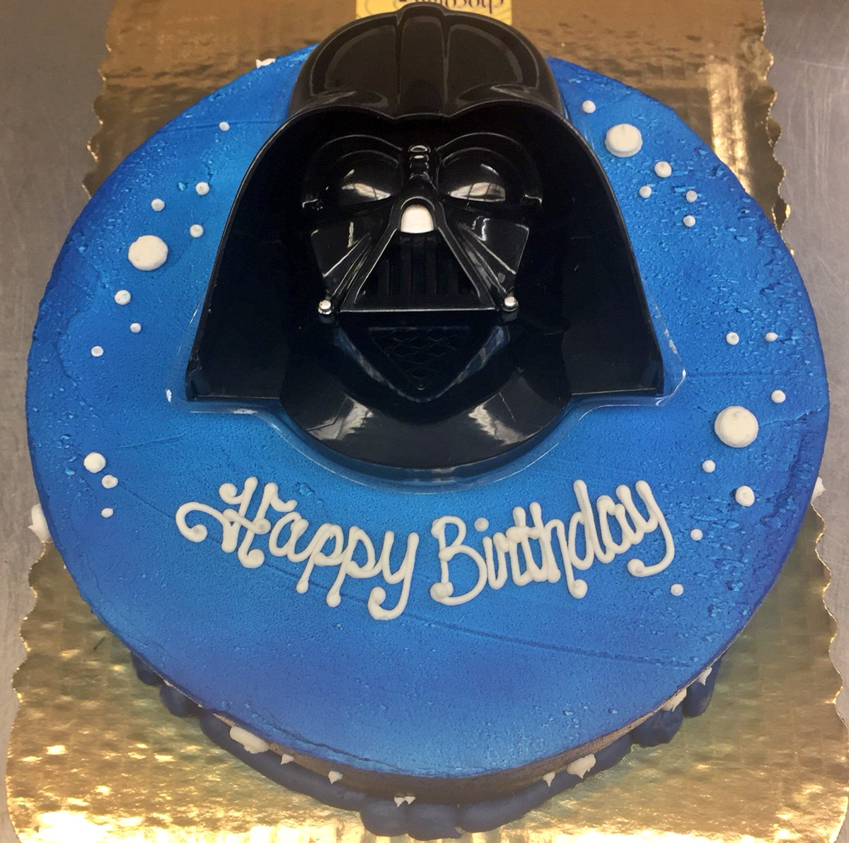 Super A Cake Gal On Twitter Starwars Cake Was Really Please Birthday Cards Printable Trancafe Filternl