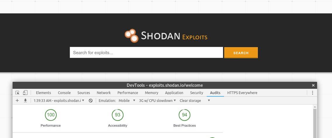 ShodanHQ Exploit