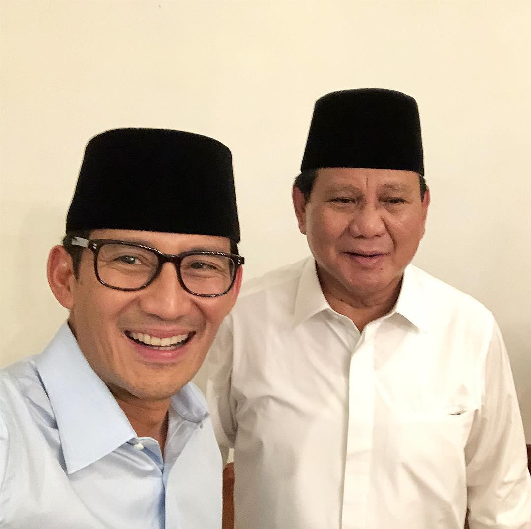 Bismillahirrahmanirrahim. Kita maju untuk Indonesia sejahtera. #IndonesiaSejahtera #PrabowoSandi