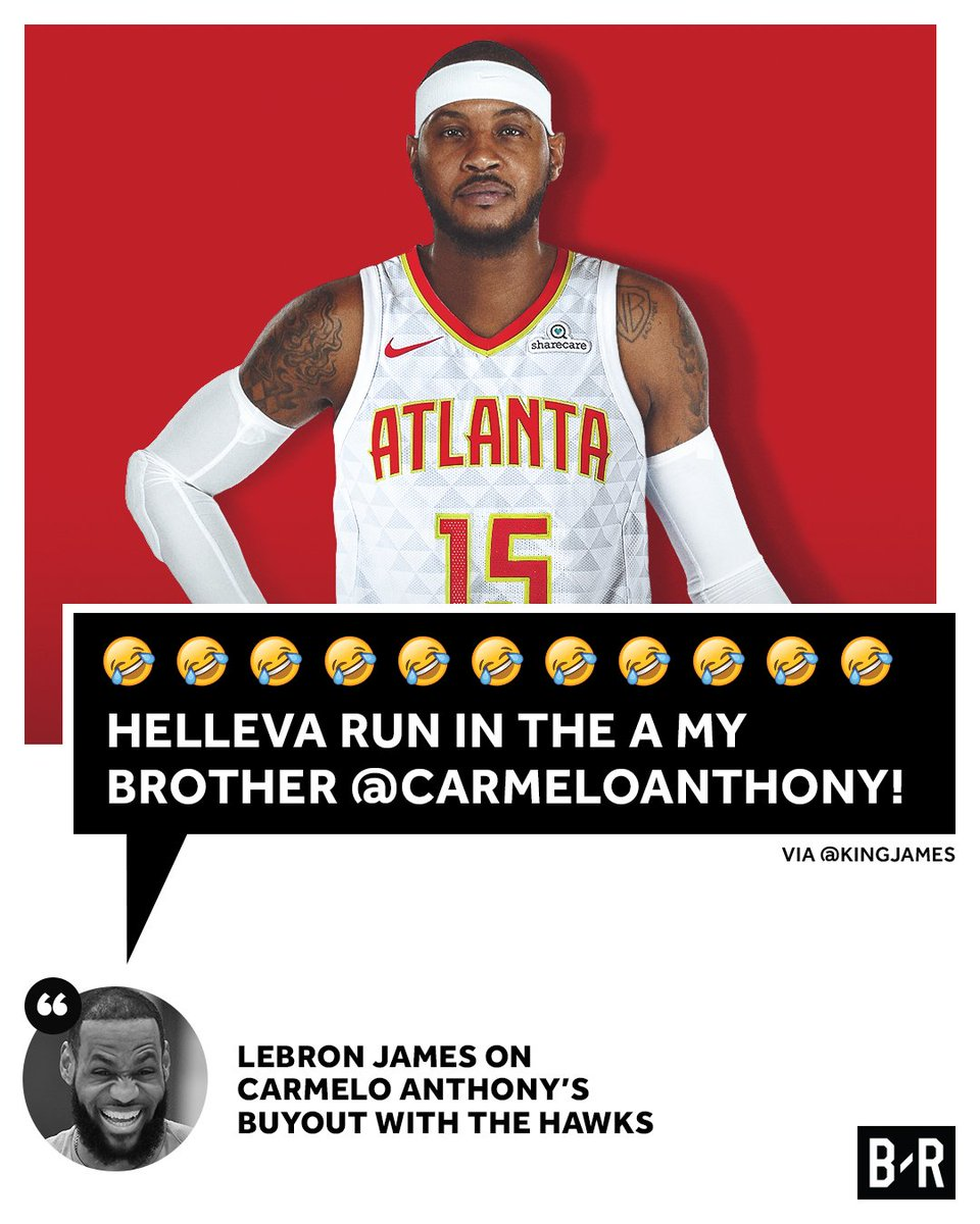 Image result for carmelo anthony hawks