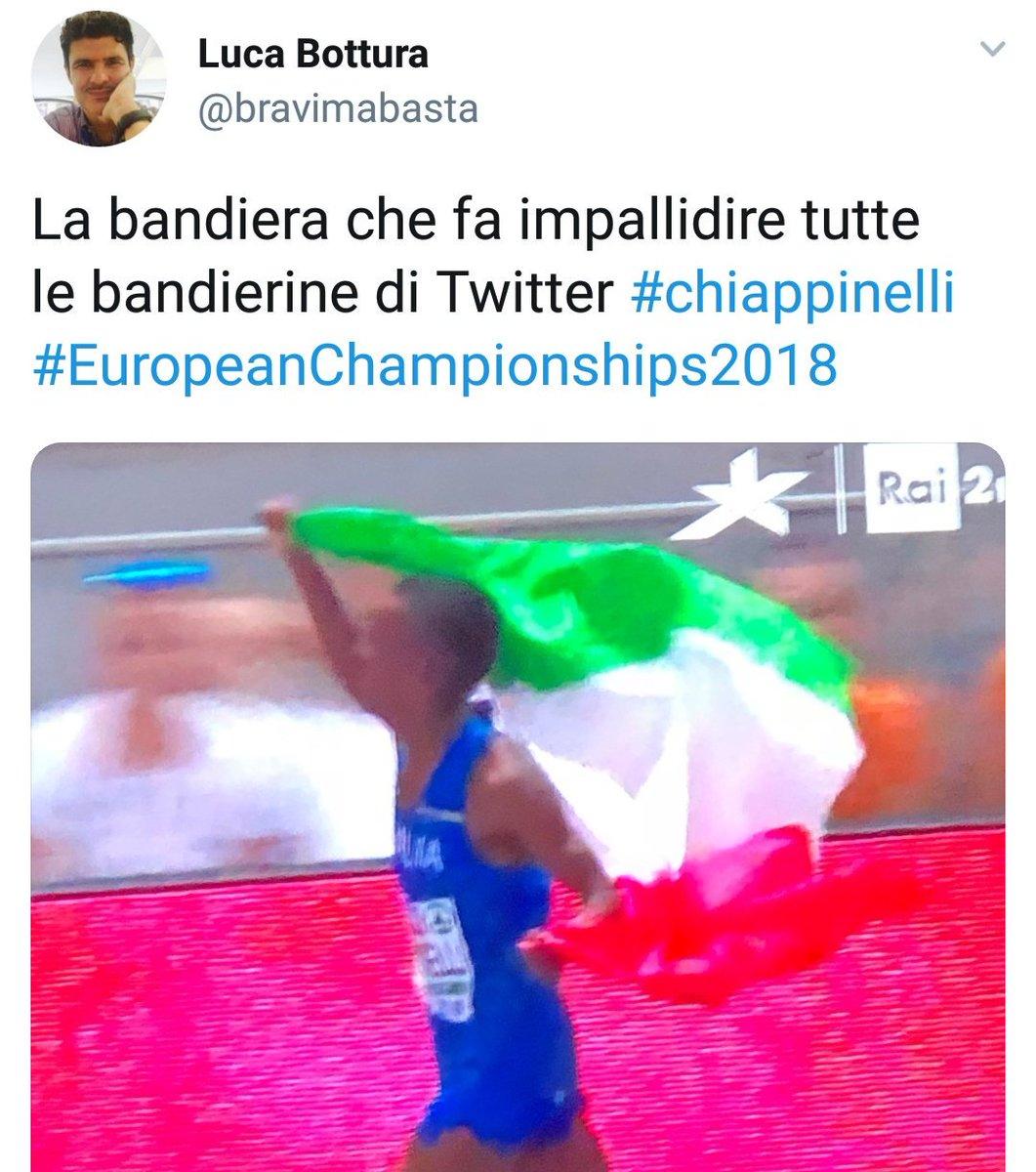 Si, fa impallidire tutte le bandierine .. forza Italia! Grande #Chiappinelli  - Ukustom