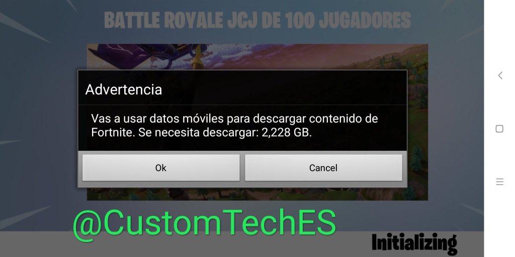 37f75530d4f Fortnite Info On Twitter No Puedes Jugar A Fortnite Android - no puedes  jugar a fortnite