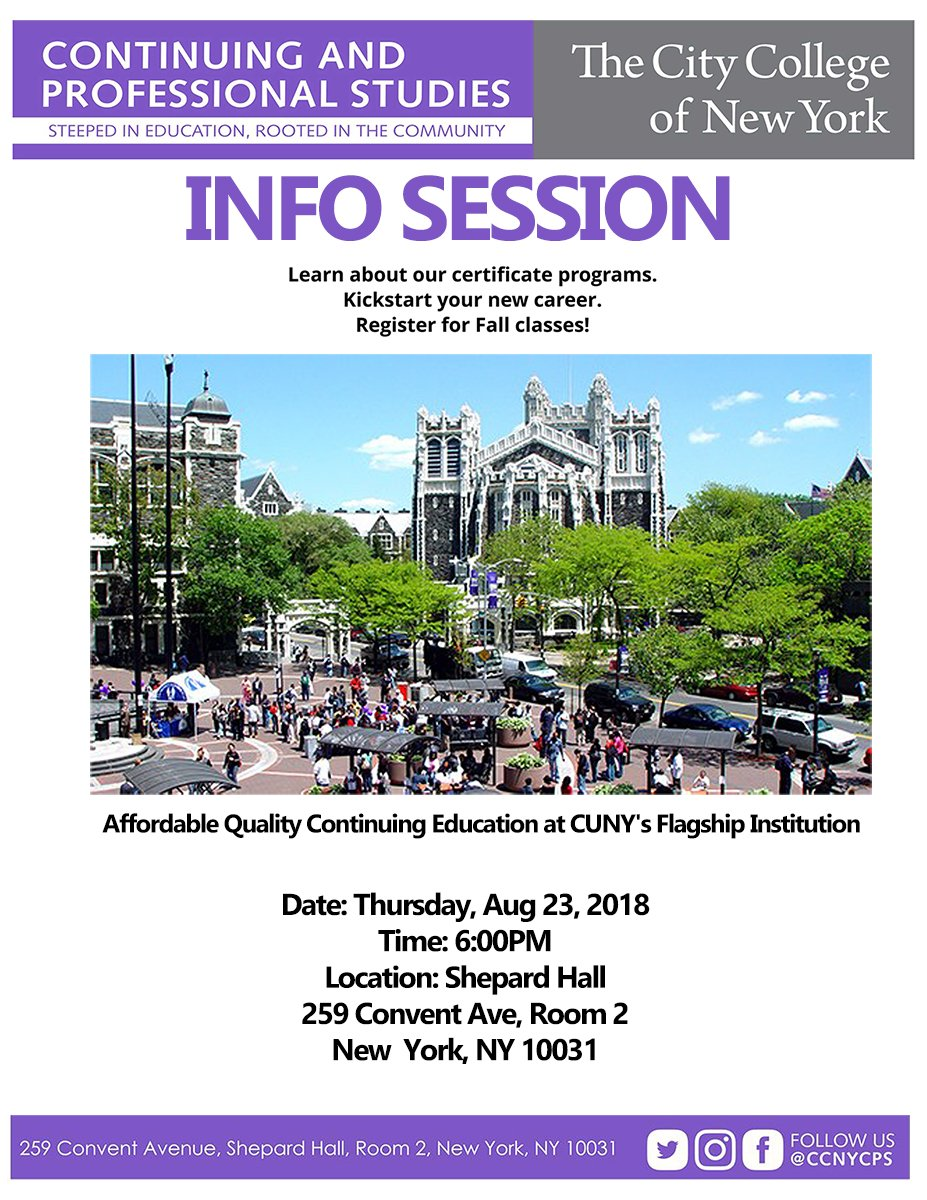 CCNY CPS (@ccnycps) | Twitter