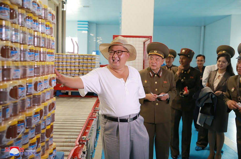 Estadão's photo on Kim Jong-Un