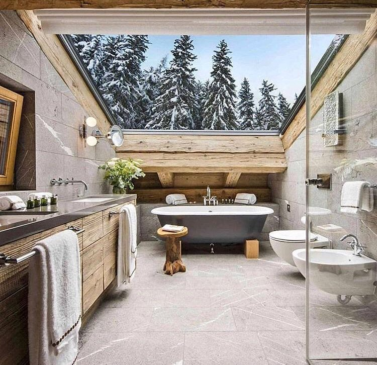 Stunning #architecture and #interiordesign at this slick mountain retreat…  http:// bit.ly/2zwG4vj  &nbsp;  <br>http://pic.twitter.com/t3vYpPmvrX