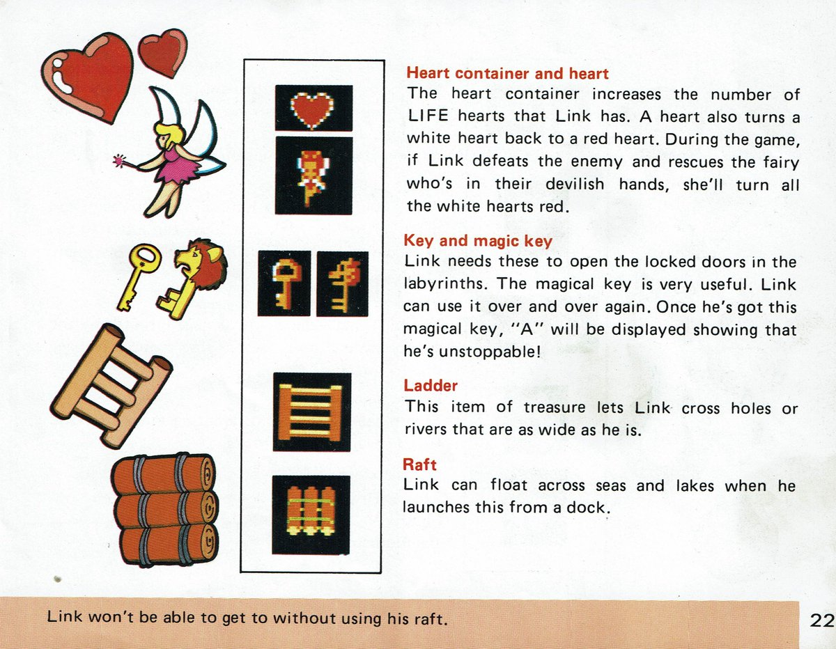 Videogamearttidbits On Twitter From The Instruction Booklet The