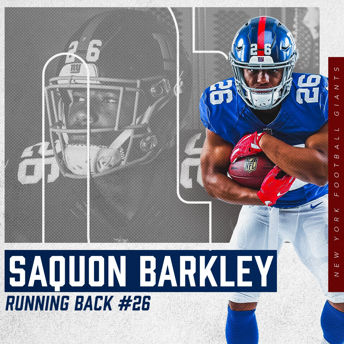 Yeah, this guy can play. 39 yards on @saquon&#39;s first run from scrimmage! #CLEvsNYG <br>http://pic.twitter.com/Ssl9whZkDY