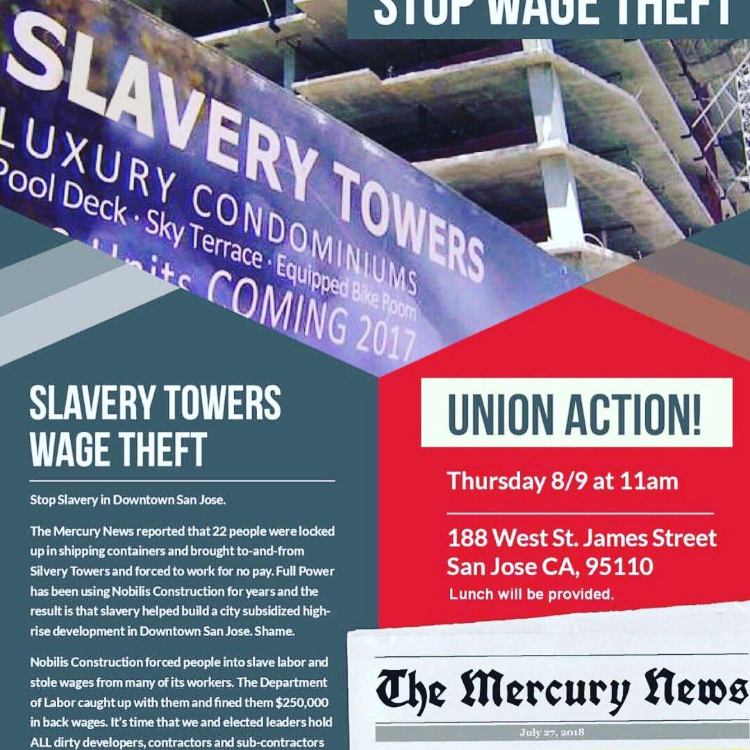 slaverytowers hashtag on Twitter