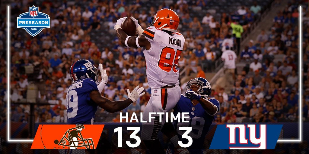 NFL Network's photo on #CLEvsNYG