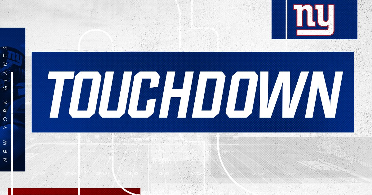 TOUCHDOWN! Jalen Simmons punches it in from five yards out and Big Blue trails 13-10. #CLEvsNYG <br>http://pic.twitter.com/hn15gIhitM