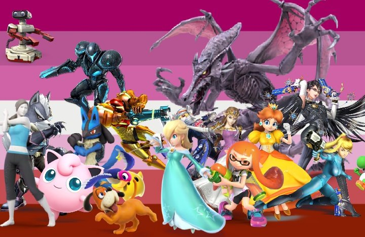 Your Favorite Character Is A Lesbian's photo on Smash