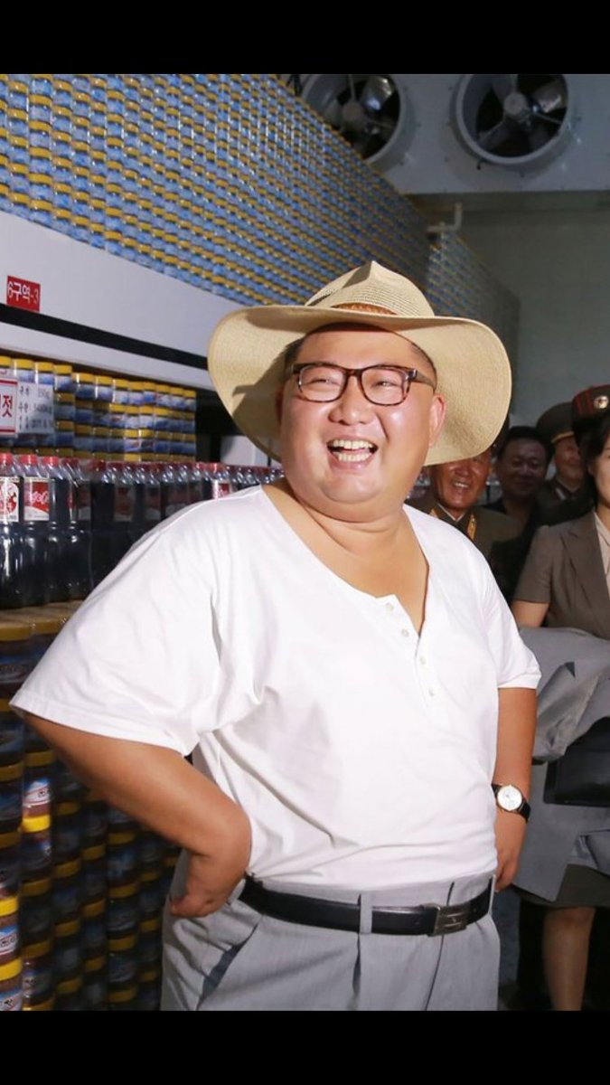 Why does Kim Jung Un look like he's about to open a new Jurassic Park?