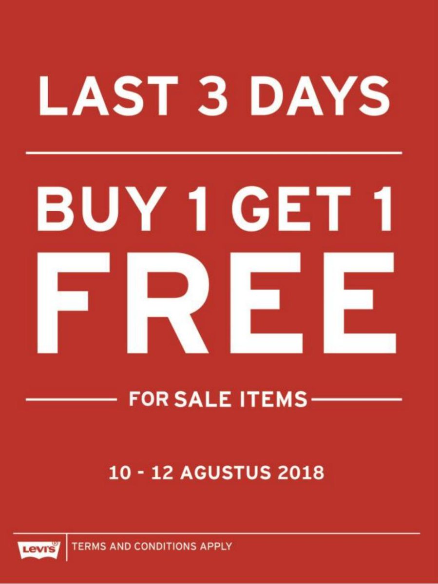 Free And For Sale >> Grand Indonesia A Twitter Buy 1 Get 1 Free For Sale Items