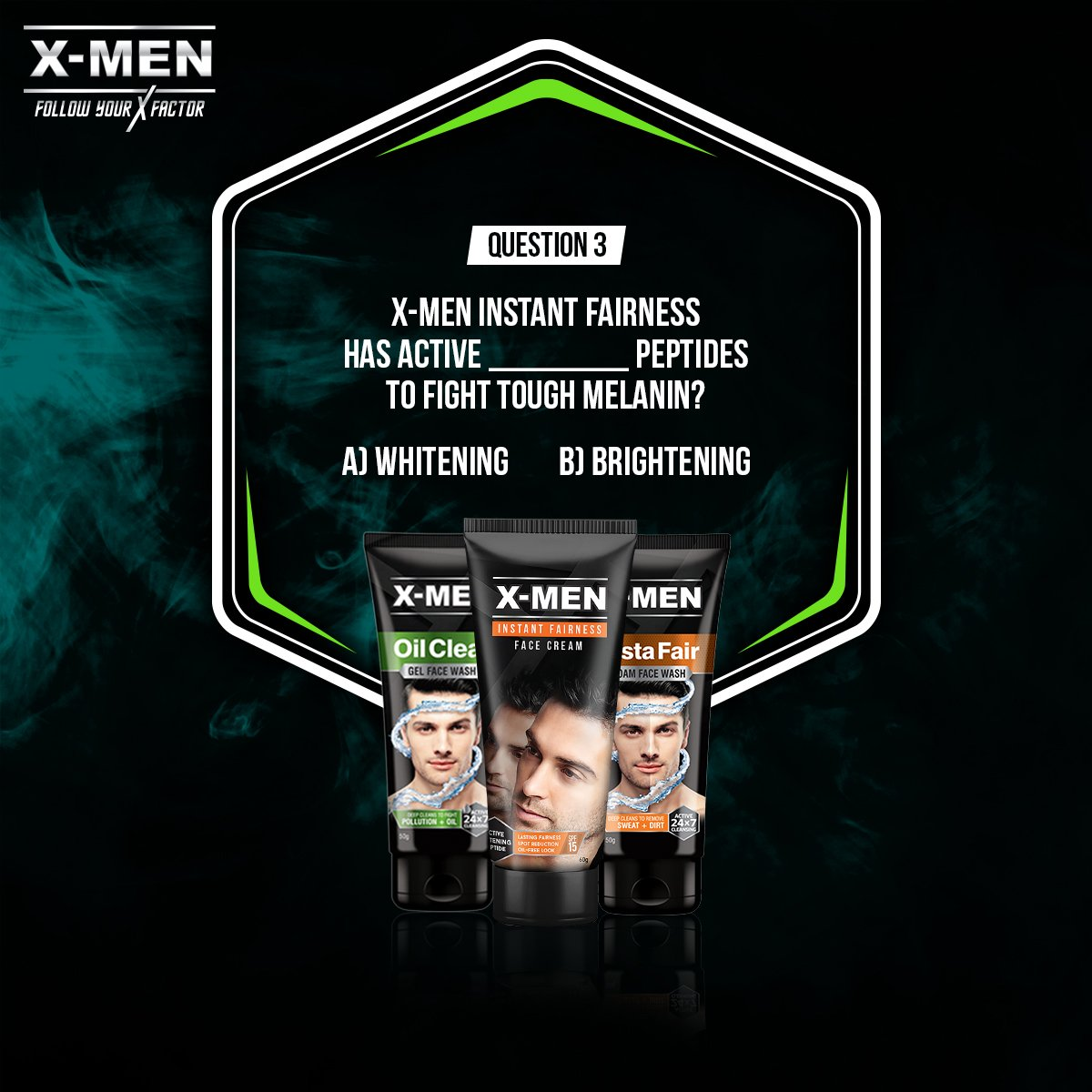 FINAL question! Here&#39;s a hint for your reference:  http:// bit.ly/XMENProducts  &nbsp;   ! Don&#39;t forget to use the right hashtags and tag your friends in the #comment section below! #XMEN #XFactor #ChooseYourWarrior Remember: you have to answer all the questions to stand a chance to win.<br>http://pic.twitter.com/70aGWT0P1C