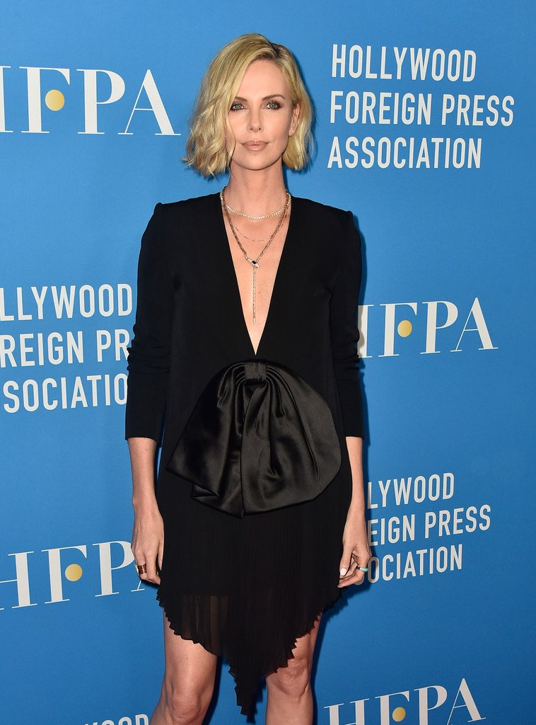 @CharlizeAfrica @LauraHarrier @realamberheard @conniebritton all looked amazing at the #HFPA Grants Banquet