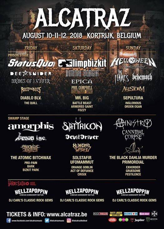 This weekend!  #alcatrazmetalfest 🇧🇪 #leyendasdelrock 🇪🇸 #amorphis #queenoftimetour https://t.co/bcmAdzRdW8