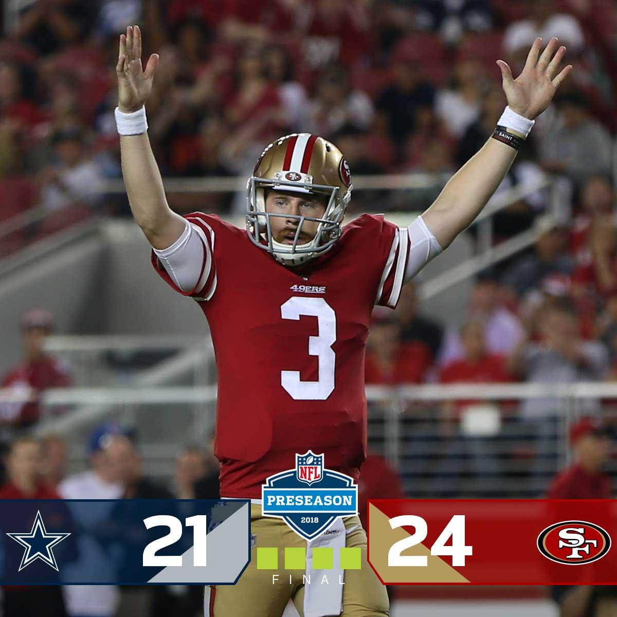 NFL's photo on #DALvsSF