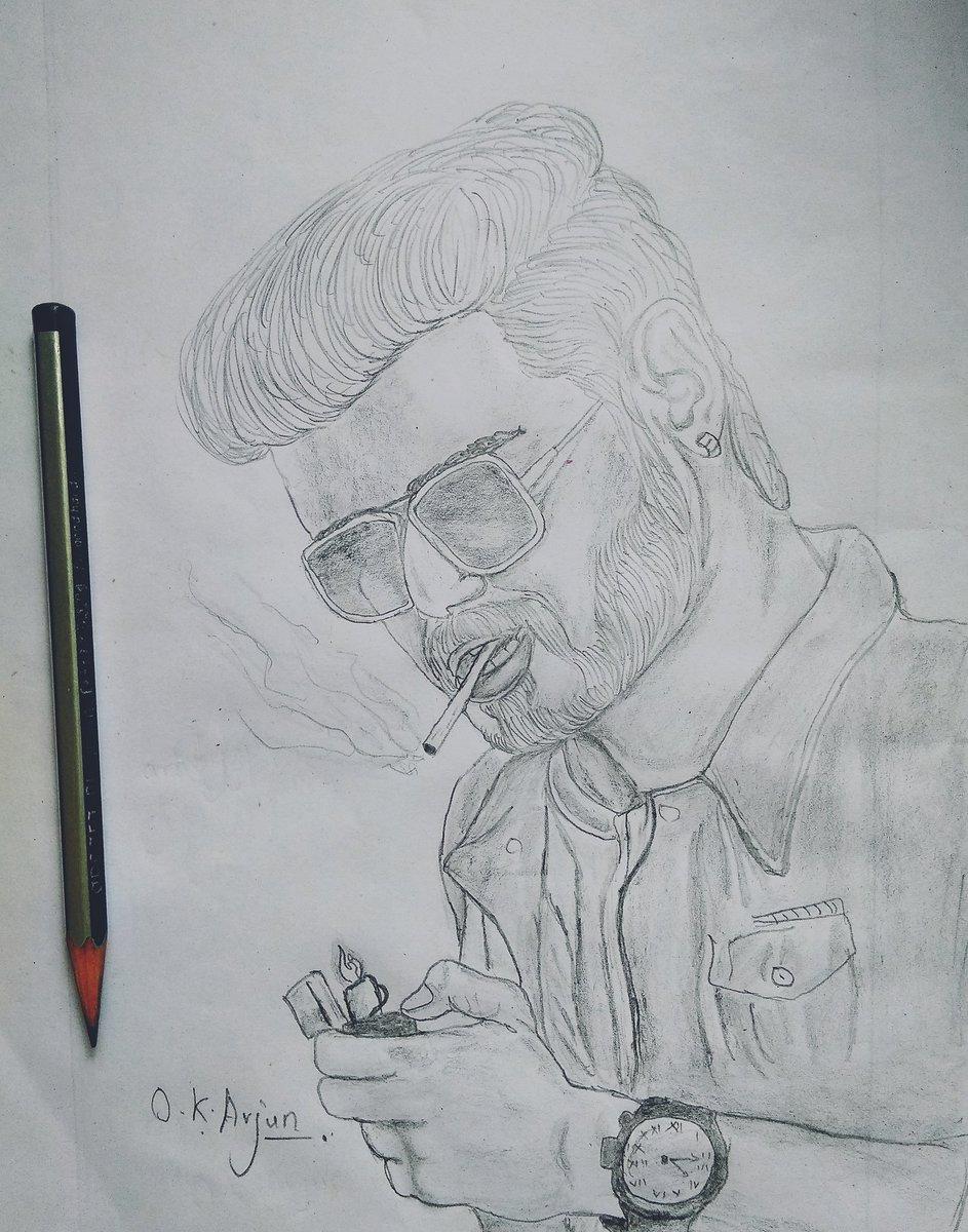 sarkar thalapathyvijay drawings lineart sketchpictwittercomprrrzyzjat