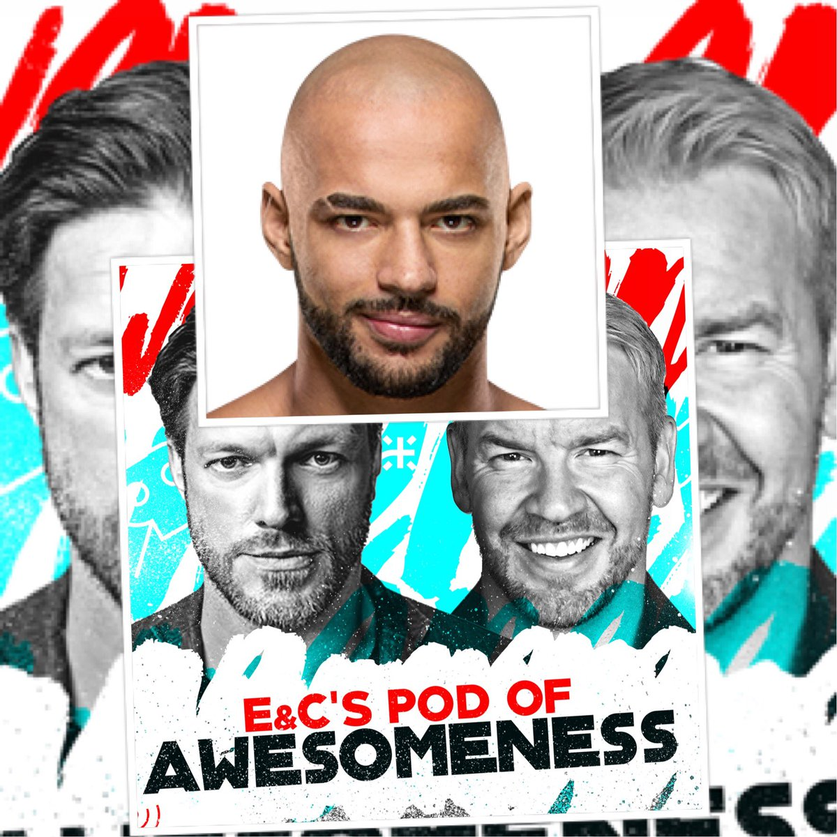 Now on @EandCPod we Ricochet Strap(see what I did) The One and Only @KingRicochet Also @THETOMMYDREAMER with #tales and an impromptu run in by Lenny Dykstra. Weird. Also Flip Sunset graces is with his presence and he's an a$$hole