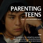 BOOK NOW for the SFCS annual conference! This two-day workshop, entitled PARENTING TEENS, is for adoptive parents, carers, guardians & professionals. Delivered by Denise Golding & Zach Gomm @RewireYourFutur. Details here:  https://t.co/zK5kG5DbD2