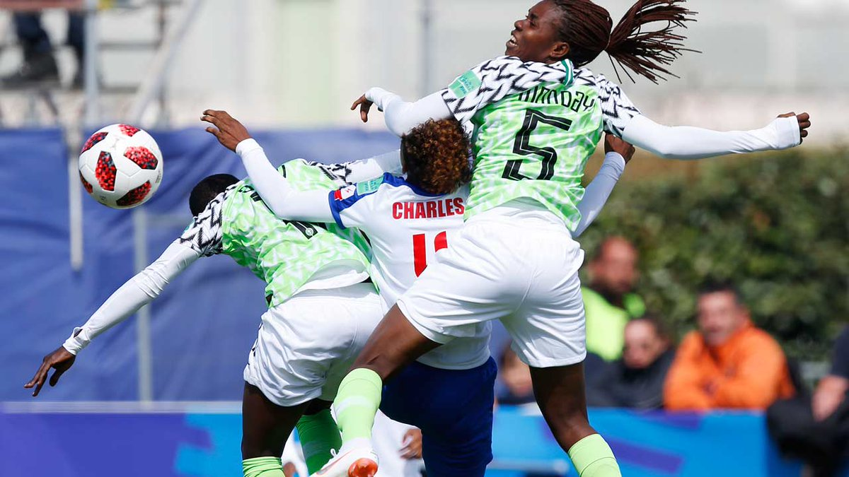 Nnadozie saves Falconets' blushes as Nigeria beats Haiti 1-0 #ajiboticnews #ChiamakaNnadozie #Football #France2018FIFAU20WomenWorldCup #RasheedatAjibade #Sport  https:// ajibotic.com/nnadozie-saves -falconets-blushes-as-nigeria-beats-haiti-1-0/  … <br>http://pic.twitter.com/fbQ4YGgQNB