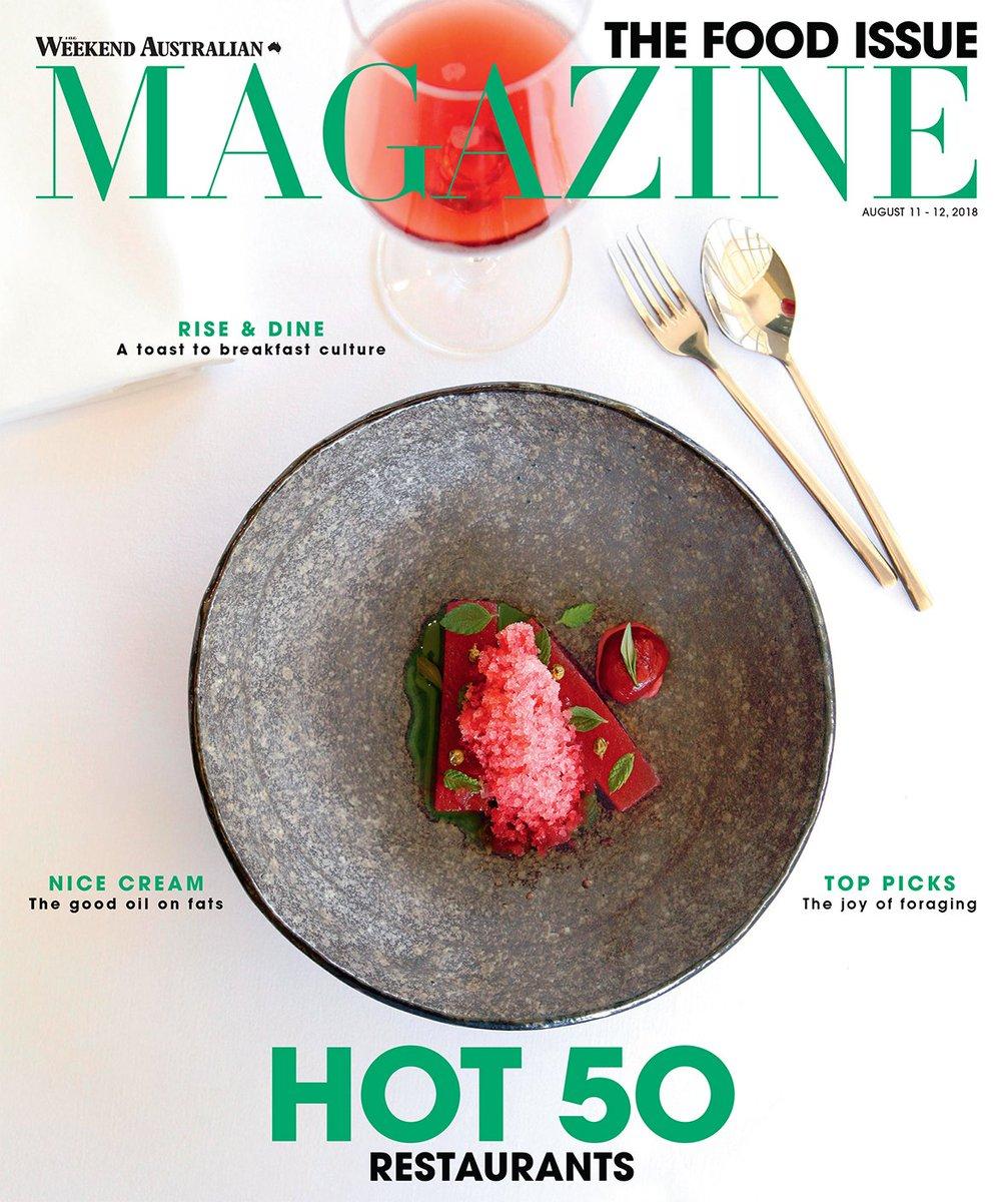 Risultati immagini per Weekend Australian Magazine hot 50