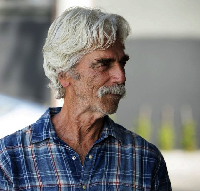 Happy birthday, Sam Elliott ... 74 and sexy as ever.