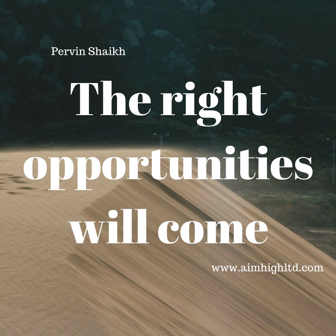 The right opportunities will come #AimHigh AimHigh #MakeYourMark #SuccessTrain #selfawareness #work #Entrepreneur #positivethoughts #entrepreneur #career #coach #executivecoaching #positivity  #success #Business<br>http://pic.twitter.com/yfCU6qLiiC