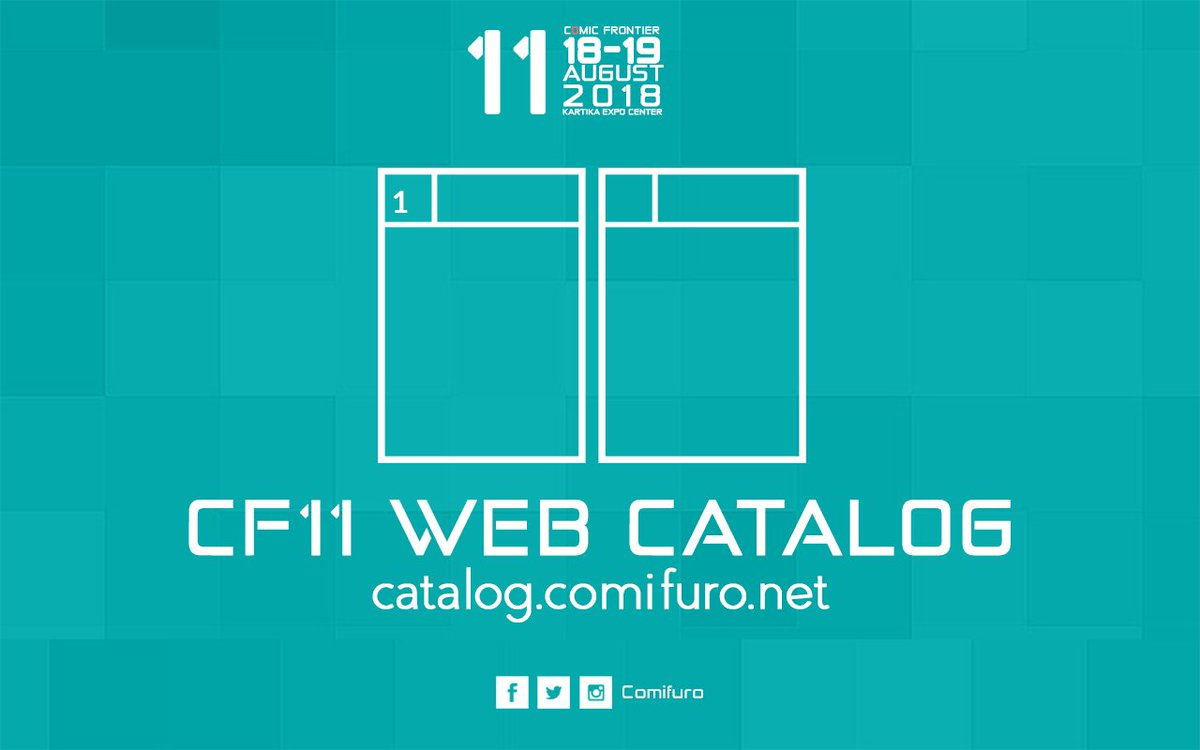 Comic Frontier On Twitter Comifuro11 Web Catalog Is Up Httpst