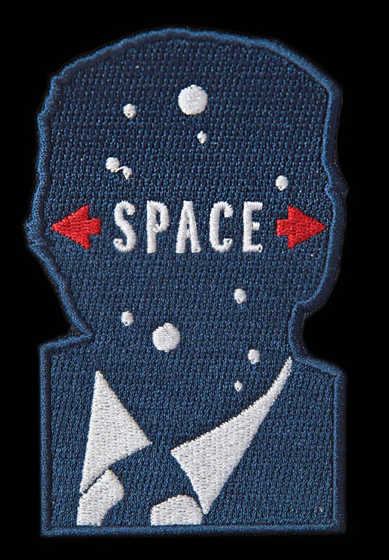 Milton Glaser's Space Force logo is too good.