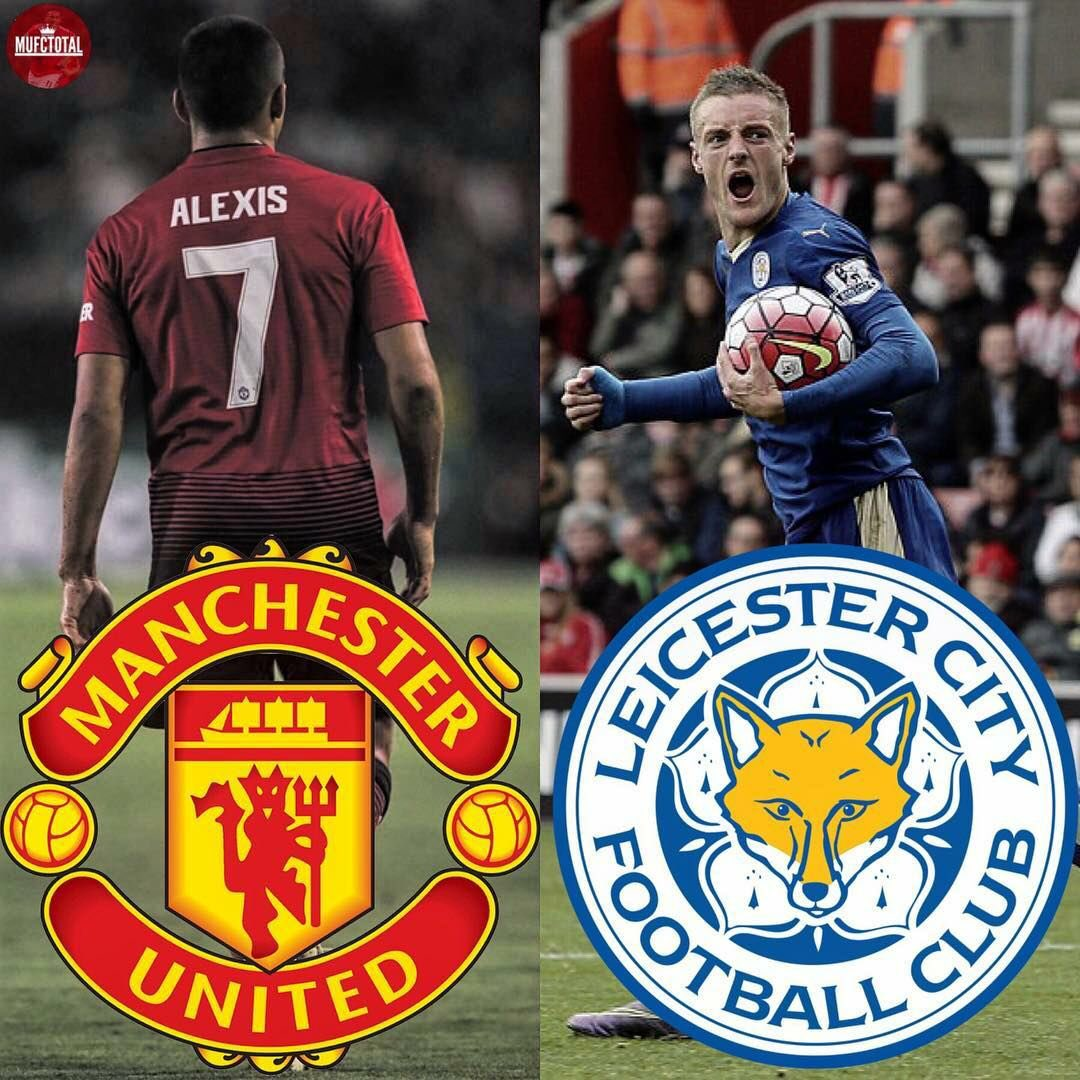 Image result for manutd vs leicester