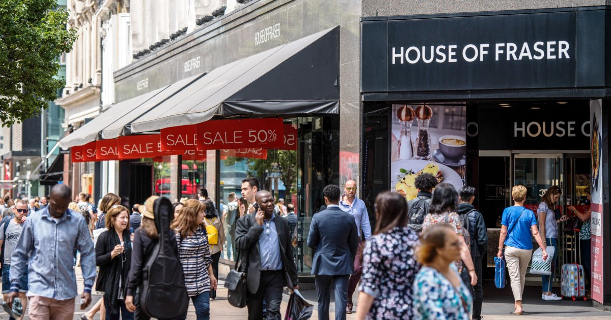 BREAKING Sports Direct Has Bought House Of Fraser For 90 Million 115