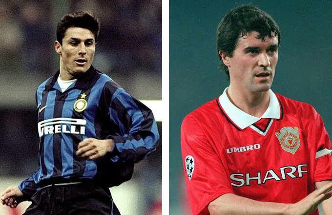 Good day to be born if you want to be a captain  Happy Birthday Roy Keane and Javier Zanetti