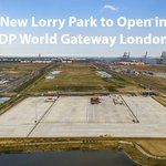 Image for the Tweet beginning: New #lorry park to open