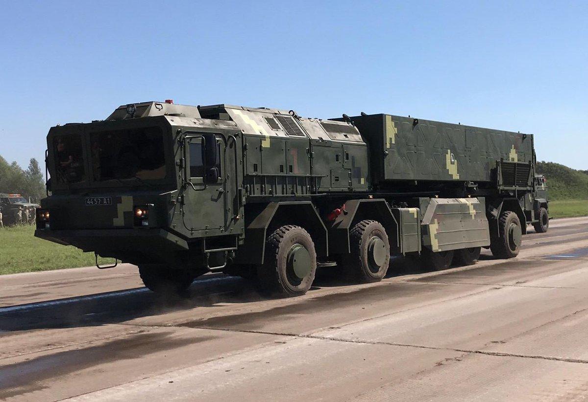 اوكرانيا تكشف بعد ايام عن احدث منظوماتها للصواريخ البالستيه  DkOpcf_XcC8V0d-