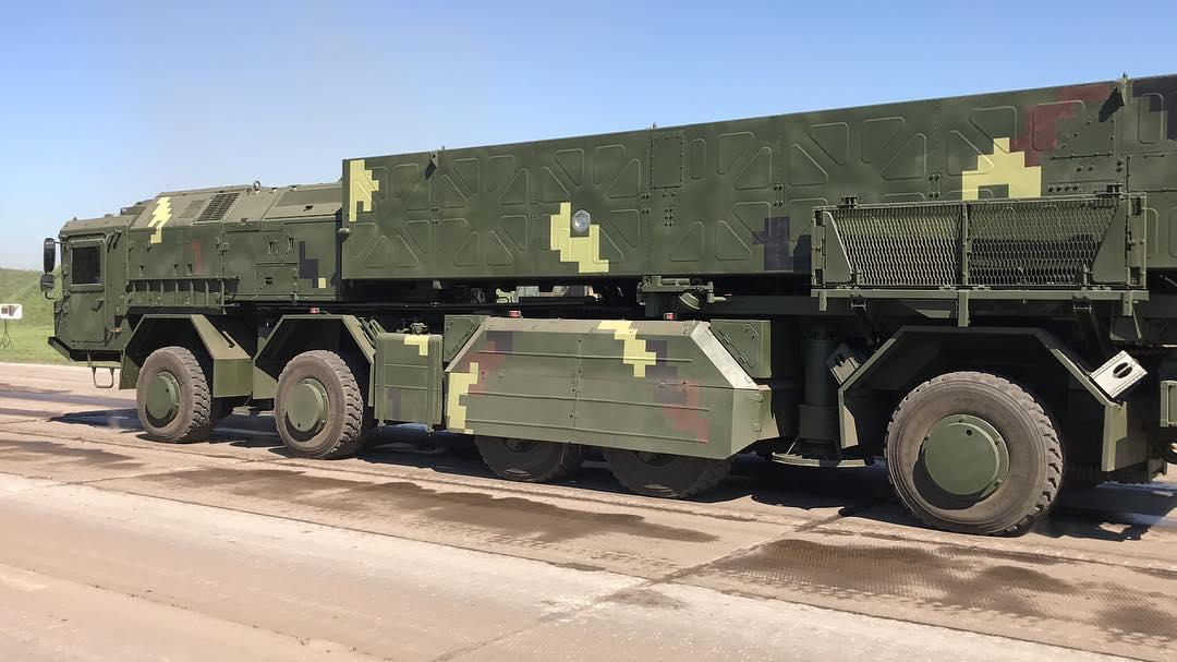 اوكرانيا تكشف بعد ايام عن احدث منظوماتها للصواريخ البالستيه  DkOpcflW0AAzTlV