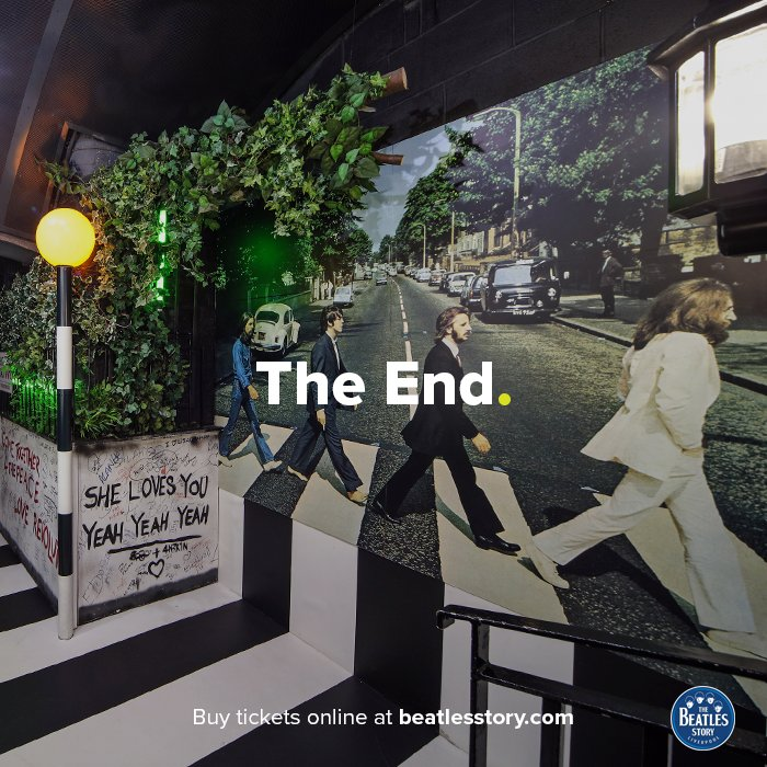 The Beatles completed recording for 'The End' on this day in 1969, the final song on the band's last recorded album.  http:// bit.ly/25d6eOy  &nbsp;  <br>http://pic.twitter.com/Y6d81FQprX