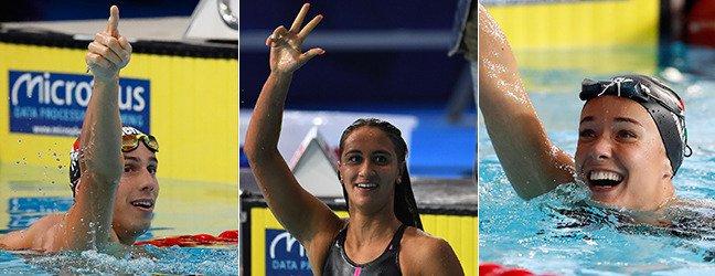 #Europeinuoto : tre medaglie d\
