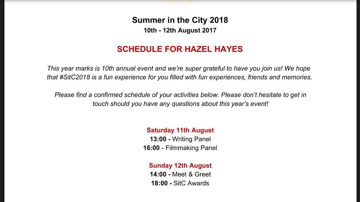 Hazel Hayes's photo on #SITC